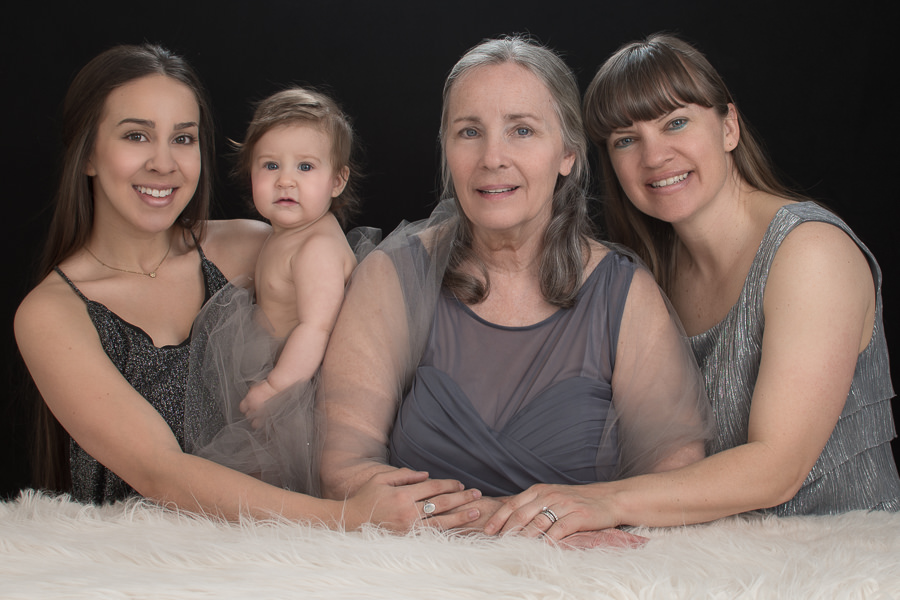 four generation women in pictures