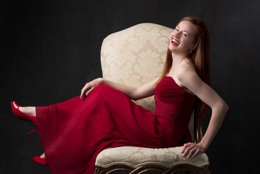 woodbridge-va-photographer-red-dress-women