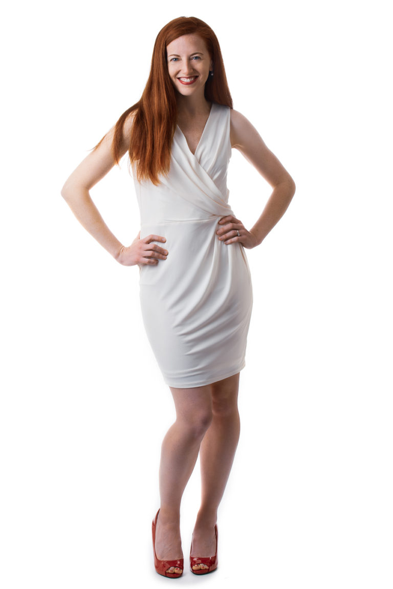 full body picture high key women photo